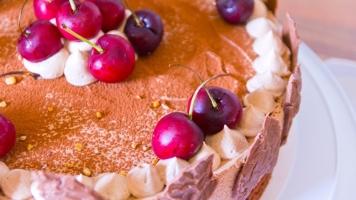 Nougat Cherry Cake